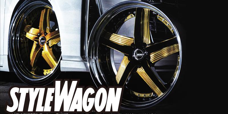 スタイルワゴン 4月号 アミスタットライエン C010 ゴールドカラー|掲載誌紹介