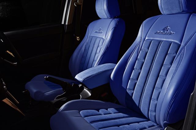 シートカバー カラー コーディネイト ブルー