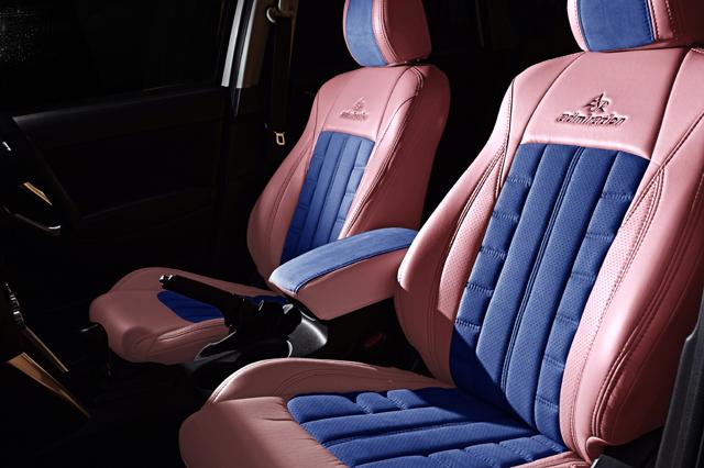 シートカバー カラー コーディネイト ピンク