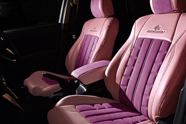 シートカバー カラー コーディネイトピンク