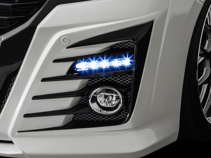 30 ヴェルファイア ベルタ CRYSTAL HYPER 2WAY LED DAYLIGHT KIT