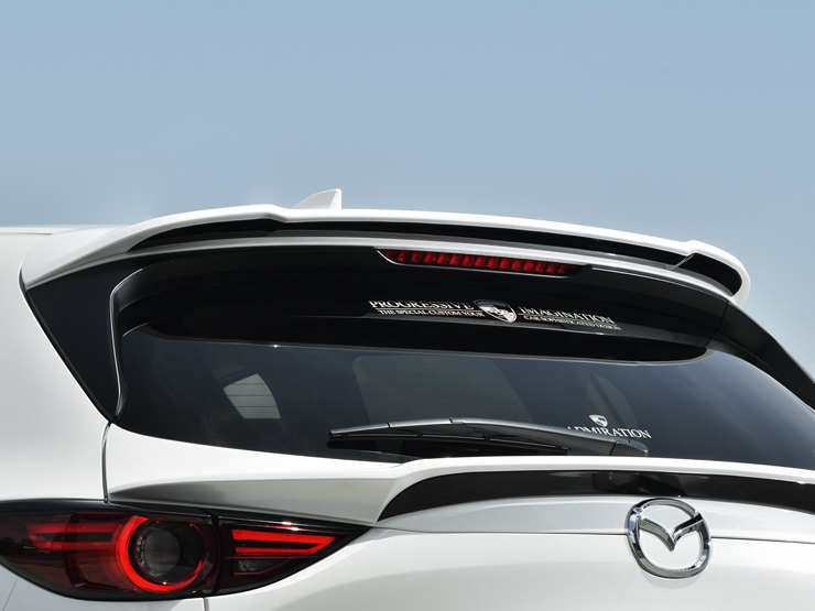 新型CX-5 REAR ROOF WING AERO KIT/CX5  カスタム