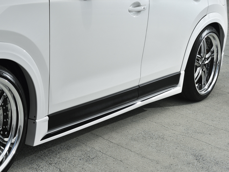 新型CX-5 SIDE STEP AERO PARTS KIT/CX5  カスタム