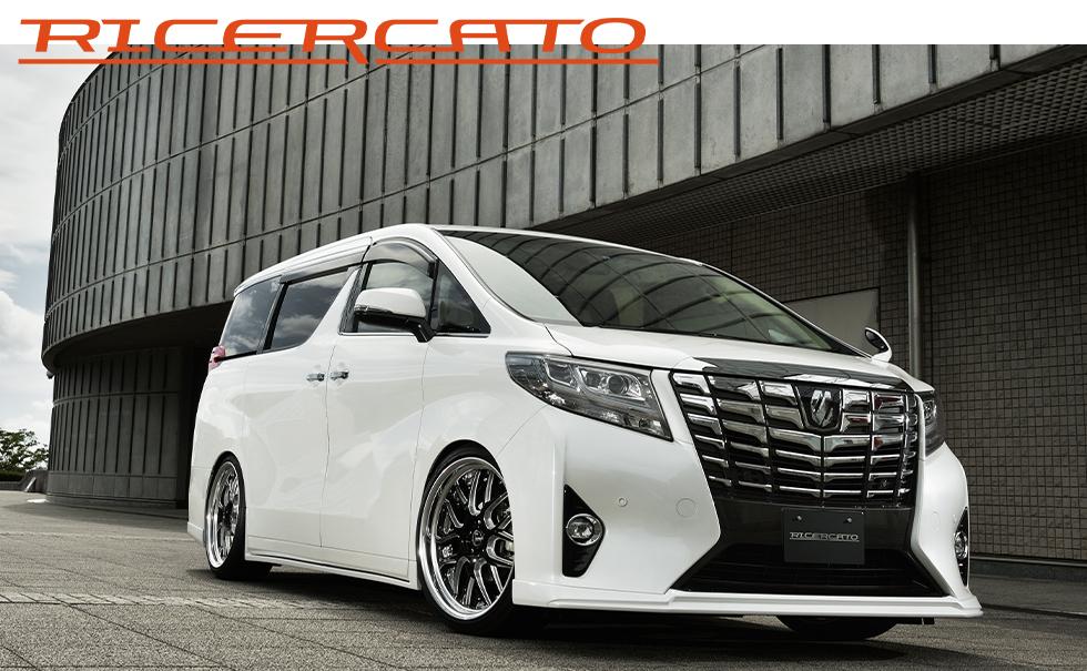 30アルファード 標準車 カスタム エアロパーツ